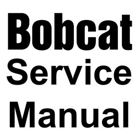 Bobcat Service Manuals