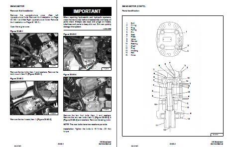 Bobcat Service Manual Example