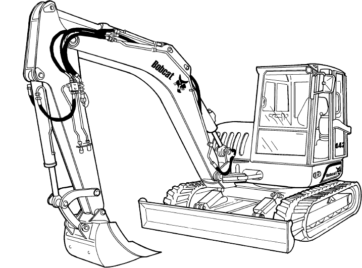 ingersoll rand zx75 zx125 excavator service repair manual pdf download