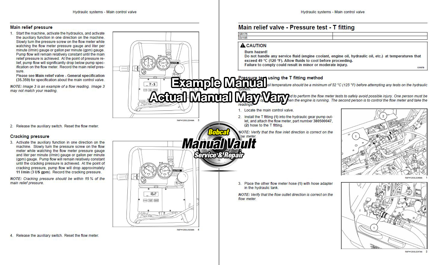 Bobcat S250 Wiring Diagrams Library Cat 3 4b Engine Diagram Tractor Schematics Wire