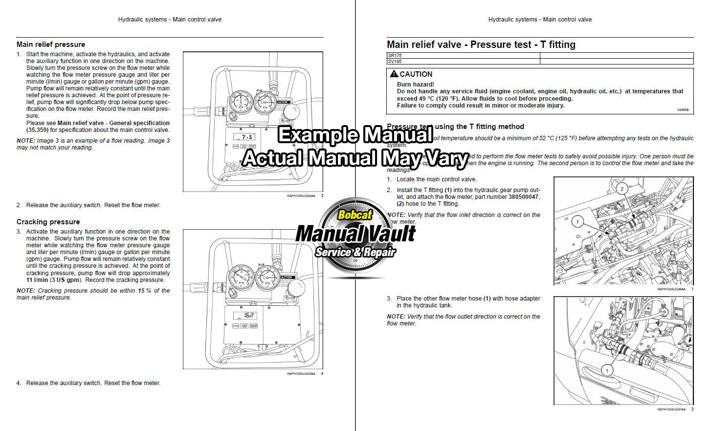 bobcat 553 skid steer loader service manual s n 5163 5164 bobcat rh bobcat manualvault com bobcat 553 service manual pdf Bobcat 553 Parts